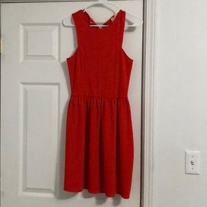 Beautiful red/orange knee length dress